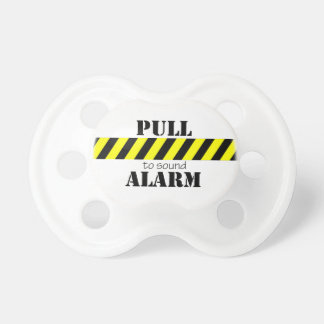Whimsical Pull To Sound Alarm Pacifier BooginHead Pacifier