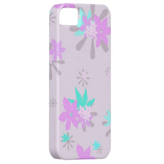 Whimsical Purple Floral iPhone SE/5/5s Case