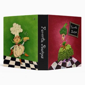 Whimsical Recipe Binder