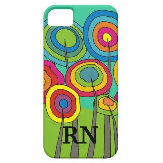 Whimsical Registered Nurse iPhone 5 Case