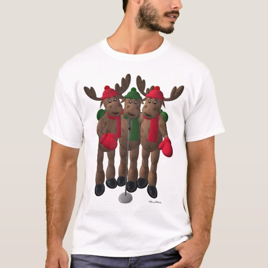 Whimsical Reindeer: The Moose Brothers T-Shirt