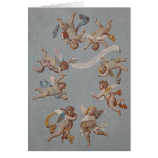 Whimsical Renaissance Cherubs Card