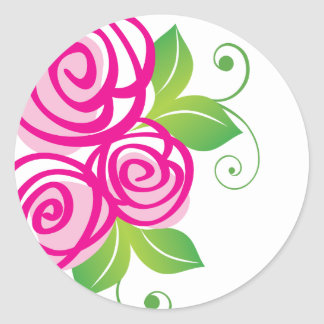 Whimsical Roses :: Stickers