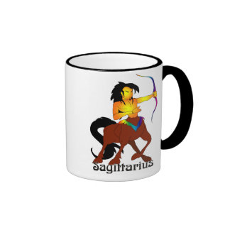 Whimsical Sagittarius Mugs
