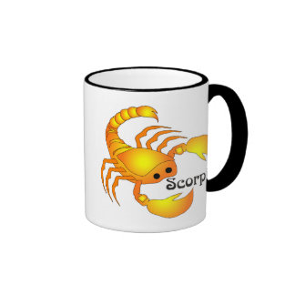 Whimsical Scorpio Mugs