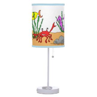 whimsical sea table lamp