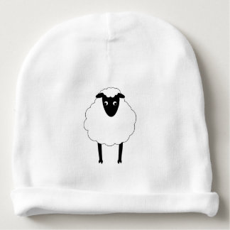 Whimsical Sheep Baby Hat