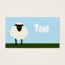 Whimsical Sheep Business Card