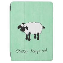 "Whimsical Sheep ""Sheep Happens"" iPad Air Cover"