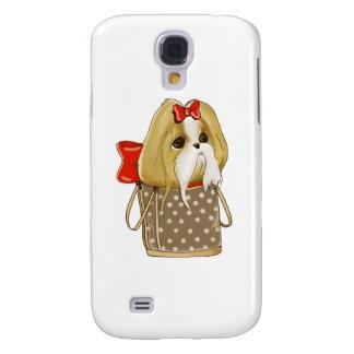 whimsical SHIH TZU DOG Samsung S4 Case