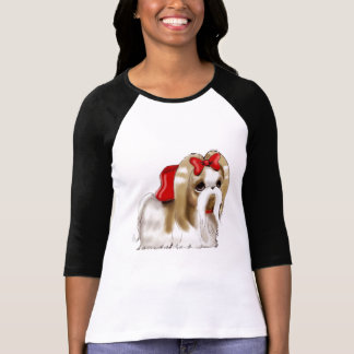 whimsical SHIH TZU DOG T-Shirt