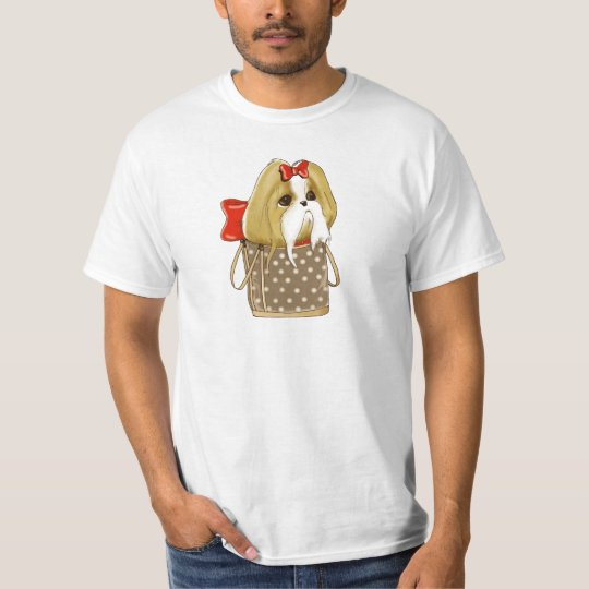 whimsical SHIH TZU DOG T-Shirt