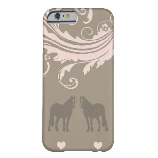Whimsical Show Pony Horse Pattern Barely There iPhone 6 Case