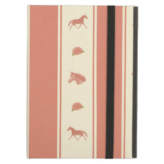 Whimsical Show Pony Horse Pattern iPad Air Cover