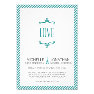 Whimsical Simple Wedding Cards