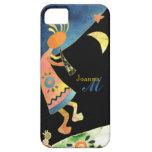 Whimsical Southwest Kokopelli Monogram iPhone 5 iPhone 5 Case
