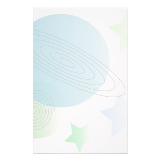 Whimsical Space Stationery