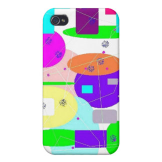 Whimsical Spheres iPhone 4 Case