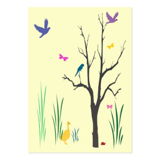 Whimsical Spring ATC Business Card Templates