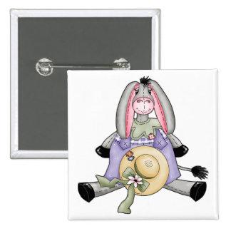 Whimsical Spring Donkey Pins