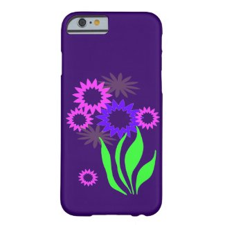 Whimsical Spring Flowers iPhone 6 Case