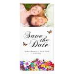 Whimsical Spring Save The Date Photo Cards