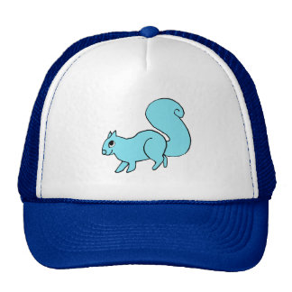 whimsical squirrel hats
