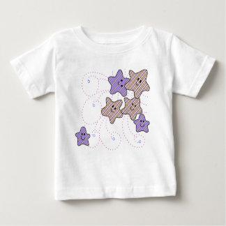 Whimsical Stars Baby T-Shirt