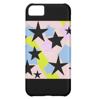 Whimsical Stars Design Case For iPhone 5C