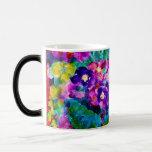 Whimsical Summer Day Flower Designer Morphing Mug