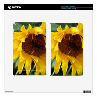 Whimsical Sunflower Skins For Kindle Fire