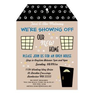 Open House Invitations Zazzle