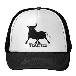 Whimsical Taurus Caps Trucker Hat