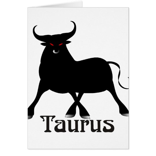 Whimsical Taurus Cards