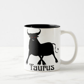 Whimsical Taurus Mugs