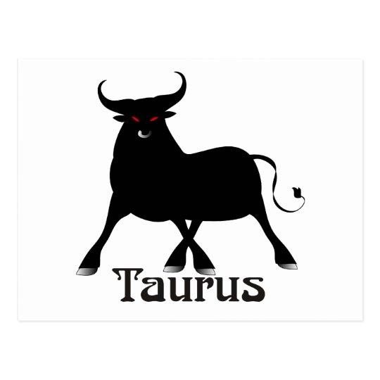 Whimsical Taurus Postcards