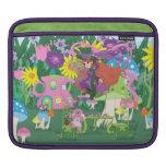 Whimsical Teapot Fairy Rickshaw Sleeve Sleeve For MacBook Air