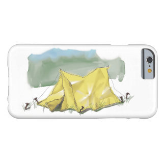 Whimsical Tent Illustration Smartphone Case