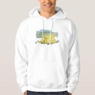 Whimsical Tent Illustration Sweatshirt