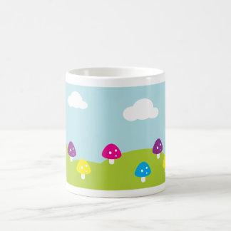 Whimsical Toadstools Coffee Mug