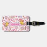 Whimsical Travel Luggage Tags