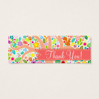 "Whimsical Tree - Baby Shower ""Thank You"" Tags"