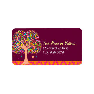 Whimsical Tree - Custom Address Labels