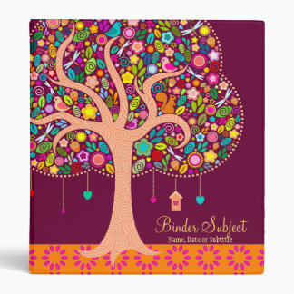 Whimsical Tree - Custom Organizer Planner Binder