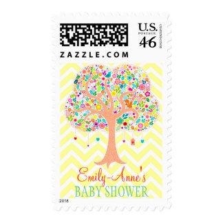 Whimsical Tree - Custom Postage Stamps