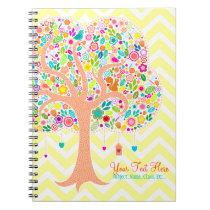 Whimsical Tree - Custom Spiral Notebook