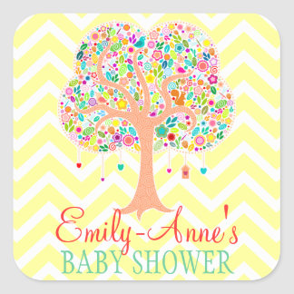 Whimsical Tree - Custom Stickers Labels