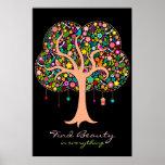 Whimsical Tree - Custom Wall Poster