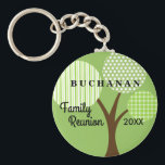 "Whimsical Tree Family Reunion Dated Souvenir Gift Keychain<br><div class=""desc"">Whimsical patterned family tree keepsake souvenir key chain is a cool and practical remembrance of your family&#39;s reunion, party, event or get-together. This is a one-sided image key chain. Part of our Whimsical Family Reunion Tree Collection which can be seen at Genealogy Greetings shop here at Zazzle. There&#39;s a direct...</div>"