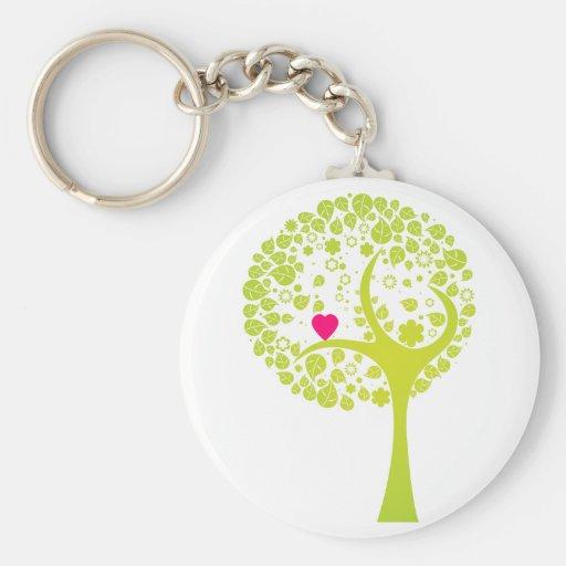 Whimsical Tree Key Chain